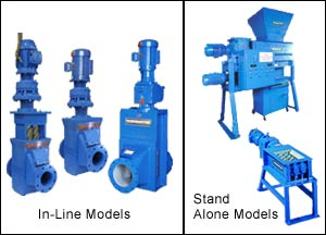 In-Line & Stand Alone Shredders