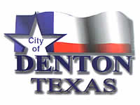 City of Denton HHW sign